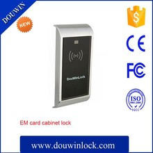 Private electronic swipe card cabinet locks for club