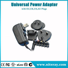 Ac dc adaptor output 12v 4.5a car cigarette lighter socket car adapter plug