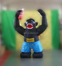 street advertising Kong Kim inflatable monster