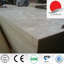 rubber wood finger joint lamination board from SUNRISE brand