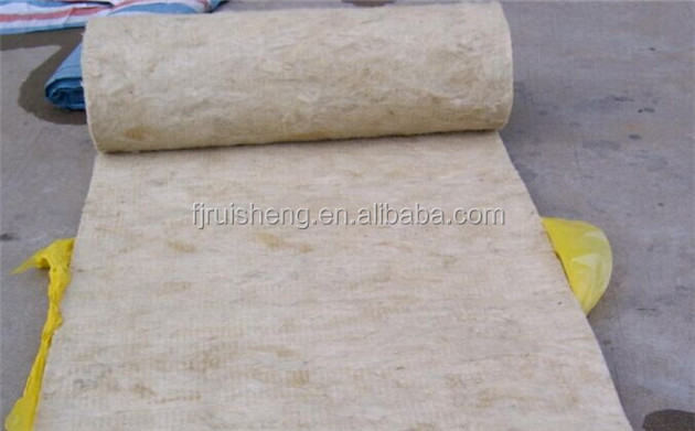 Thermal insulation material rockwool blanket with aluminum for Rockwool blanket insulation