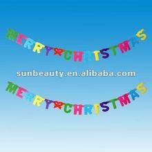 Hot sales joy letters christmas decoration