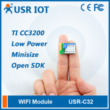 (USR-C322) Low Power Minisize Serial Wifi Module, UART to wifi Converter Support WEP-A,WPA/WPA2 Security Mode