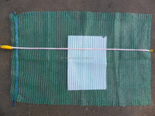 green 45x75 vegetable nets for packing