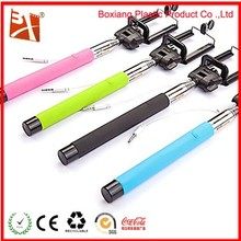 2015 Customized Silicone Selfie Stick Bluetooth & Wire Control Function