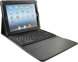 High quality Bluetooth keyboard Leather case for iPad case 2/3/4