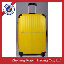 New Design Yellow Four Wheels Super Light Luggage