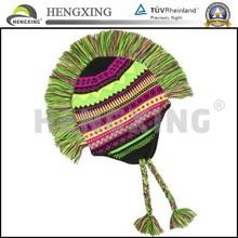 Fashion ear flap winter hat,wool beanie hat,long ear winter hat