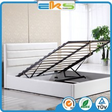 PU PVC LEATHER FABRIC MODERN QUEEN KING DOUBLE BABY SINGLE SPACE SAVING STORAGE GAS LIFT SOFT BEDS