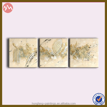 New abstract three pieces group handmade oil panting GHF-140611038