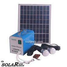 SINOTEK 10W portable mini solar system high efficient energy solar