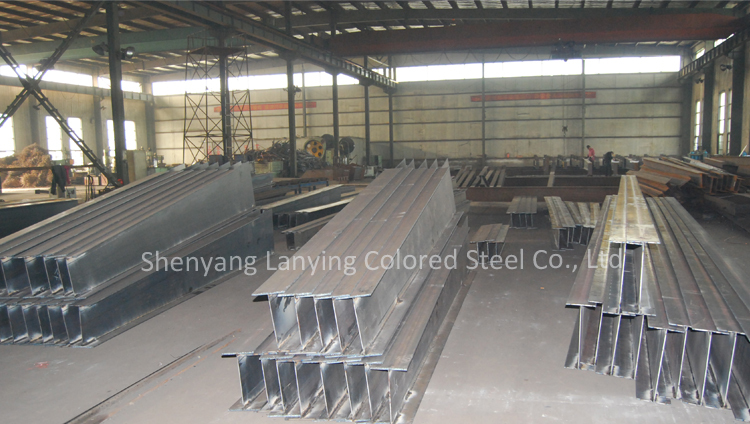 Residential light steel structure building
