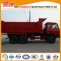 Dongfeng dump truck 6X4 240hp sand tipper standard dump truck dimensions