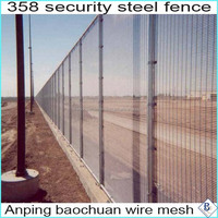galvanized PVC coated 358 security Fence for wholesaler
