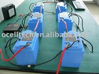solar street light lithium battery solar system battery 12V/ 40Ah