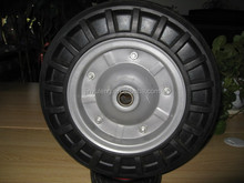 """13"""", 6"""" to 16"""" solid rubber wheel, tires for wheel barrow, hand trolley, cart"""