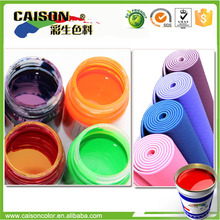Water based liquid colorant for Latex Mat dyeing
