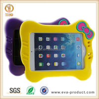Cat face design Children kids safe eva foam protective case cover for ipad mini 1 2