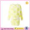 Wholesale New Design Long Sleeve Blouse Top And Skirt 2pcs Co-ord Set
