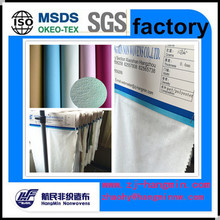 Chinese suppliers provide high quality product spunlace nonwoven fabric for leather shoes/bags/sofa/cloth
