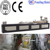 CE & ISO Haisi Extrusion Food Twin Screw Extruder Machine