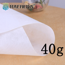 pva Water Dissolving Non Woven Paper for embroidery use,high quality low price water soluble paper