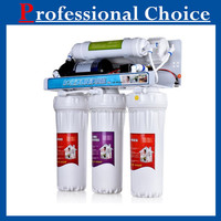 Auto flush type domestic 5 stages rohs reverse osmosis water filtration system case