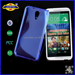 Stylish S-line Case for HTC Desire 620, Newest Product S- Line Wave TPU Gel Case Cover for HTC Desire D820MU 820 mini--- Laudtec