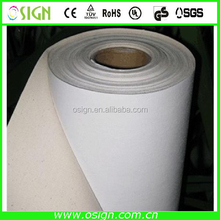 100% polyster or cotton canvas for UV eco-solvent latex printer
