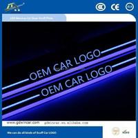 Hot sale door sill scuff plate door sill pedal Auto Parts Scuff plate light for Toyota Levin automobile accessory new design