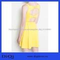 nueva moda de diseño de vestido casual con el arco hacia atrás