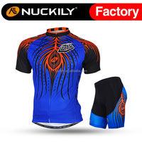 Nuckily Short phoenix eyes bicycle cycling jersey set