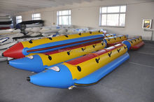 Liya 3meter to 8 meter inflatable water banana boat for sale