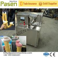 ice cream hollow tube making machine/rice and corn extruding machine/rice and corn bulking machine