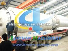 European standard waste tyre to diesel oil pyrolysis machine