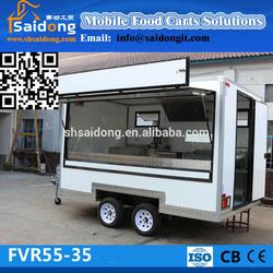Newest Food Trailer Food cooking van/Food Van Takeaway Trailer FVR55-35