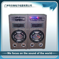 professional Stage Speaker with USB/SD/FM event speaker show speaker party speaker