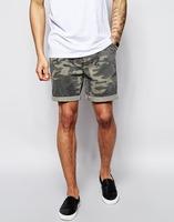 men spandex camo shorts wholesale