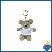 Plush Mouse Toy Keychain with Sublimation T Shirt