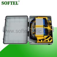 [Skype:softel009] outdoor 16 Core PLC Fiber Optic FTTH Terminal Box for PON Network