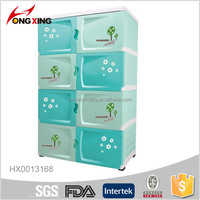 4 layers Plastic Storage baby cupboard for clothes