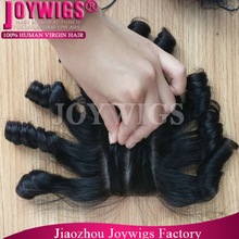 2015 Grade 7A wholesale virgin Brazilian hair 3 part lace closure, invisible knots silk base closure