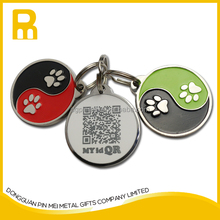 New market fashional top style pet tags id dog tag qr good for promotion