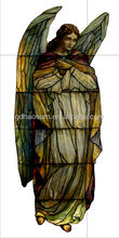 long life stained glass chapel windows with tempered glass and never-fade painting