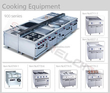 Hot Stainless Steel Cooking Range