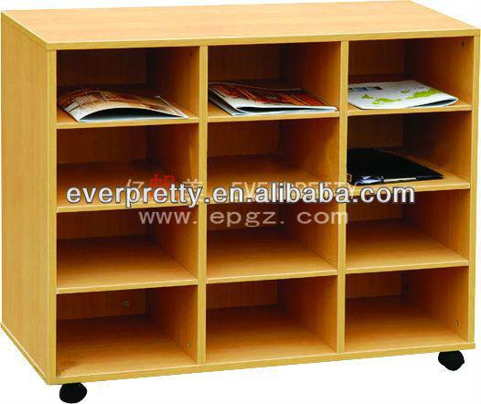 Nuevo dise o de biblioteca para los ni os estanter a - Estanterias diseno para libros ...