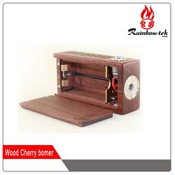 2015 Top Selling Wooden Box Mod Cherry Bomber Box Mod
