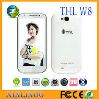 Bluetooth/GPS/WIFI Dual Camera THL W8 Quad Core----THL W8