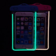 Luminous Waterproof Cover for Cell Phone, beach bag case for xiaomi mi3