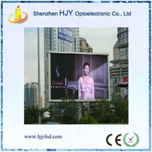 P10 outdoor rechargeable battery powered led sign